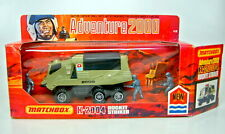 "Matchbox Adventure ""2000"" K-2004 Rocket Striker avocado top in Box"
