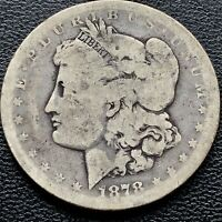 1878 CC Morgan Dollar Carson City Silver $1 RARE Circulated #18561