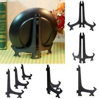 Foldable Display Easel Stand Plate Bowl Picture Frame Photo Pedestal Holder