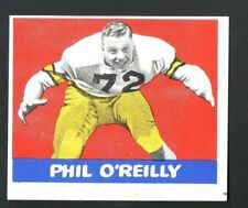 1948 Leaf Football #70 Phil O'reilly-Purdue Boilermakers