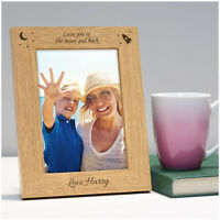 PERSONALISED Birthday Gifts for Mummy Nanny Mum Love You Photo Frame Presents