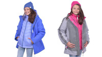 NEW Gerry Girls 3 In 1 Systems Jacket w/ Beanie - VARIETY