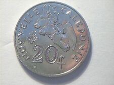 20 Francs nouvelle caledonie 2010