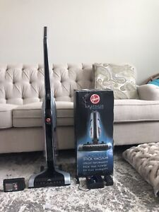 Hoover Linx Cordless Stick Vacuum Cleaner Lightweight BH50010 Grey Charge
