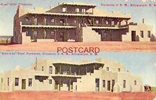 """1910 """"Ho-Kona"""" & """"Kwa-Ta-Ka"""" Girls' & Boys' Dormitories Univ of N M, Albuquerque"""