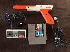 Duck Hunt - Nes ( Nintendo Entertainment System ) W/Zapper Gun & Controller !