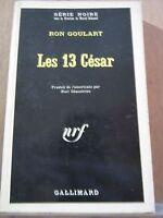 Ron Goulart: Les 13 César /Série Noire N°1162, 1967