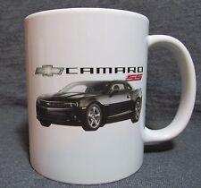 2014 Chevrolet Camaro SS Coffee Cup, Mug - Black - Sharp! - NEW