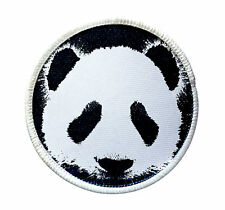 Patch - Panda Heat Seal / Iron on Patch for jackets, shirts, tote bags, hats,
