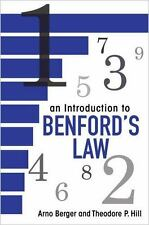 An Introduction to Benford's Law: By Berger, Arno, Hill, Theodore P.