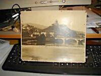 foto primi '900 originale TORINO PONTE SUL PO - ED. ALINARI 14745