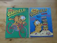2 Comics aus Sammlung Garfield mit Orson Nr.11 von 1986 + Nr.7 von 1990
