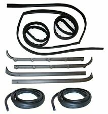 1980-86 Ford Bronco  Belt Weatherstrip- Window Channel- Door Seal Kit