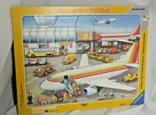 Ravensburger At The Airport See Inside Frame Puzzle KIDS TOY complete 41 pcs