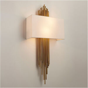 Modern Luxury Wall Lamp Industrial Wall Sconces Lampshade Indoor Bedroom Lights