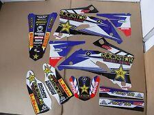 FLU TEAM ROCKSTAR GRAPHICS YAMAHA YZ250F YZ450F YZF250 YZF450 2006 2007
