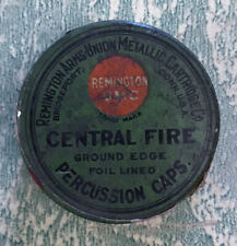 Remington UMC Percussion Cap Tin Unopened NOS