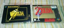 lot THE LEGEND OF ZELDA A LINK TO THE PAST + OCARINA OF TIME snes n64 Germany