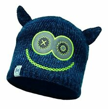 Bonnet Buff Knitted Polar Child Monster Merry Dark Navy DV