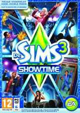 Pc & Mac Jeu les Sims 3 Add-On Showtime Neuf Emballage D'Origine