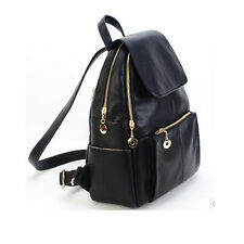 New Women Shoulder Rucksack School Bag Travel Cute Leather Fine Backpack Satchel