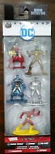 DC Comics Nano Metalfigs Die-Cast Mini Figures 5 Pack - Flash, Cyborg, Wonder