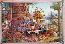 Jumbo Games Country Hideaway by Barbara Mock 1000 piece jigsaw puzzle 01463