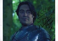 NATHANIEL PARKER - Signed 12x8 Photograph - MERLIN