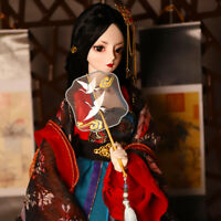 "New 24"" 1/3 Resin BJD MSD Dolls Lifelike Doll Joint Dolls Women Girl Gift Queen"