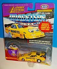 Johnny Lightning 1998 Dragsters USA  #16 Mooneyes 1995 Kenji Okazaka Yellow