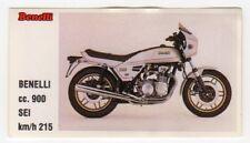 figurina MOTOR SHOW BAGGIOLI 1986 NEW numero 9 BENELLI cc. 900