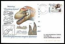 Spain dinosaur dinosaure dinosaurios-Custom Stamp-only 5 cover Made!!! cg65