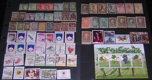 Slovenia Collection 69 diff stamps & 1 Souvenir Sheet