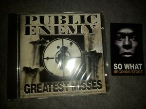 PUBLIC ENEMY - GREATEST MISSES. CD NEW SEALED