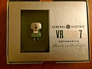 General Electric VR1000-7 Orthonetic Stereo Cartridge - previously owned - boxed