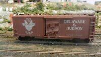 Athearn HO BB  40'  Boxcar, Delaware & Hudson, Upgraded, EXC