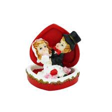 Brautpaar rotes Herz Hochzeitspaar Geschenk Hochzeitsfigur Tortenfigur