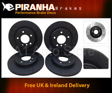 Mazda RX8 Manual FE-13B 07/03-12/10 Front Rear Brake Discs Piranha Black