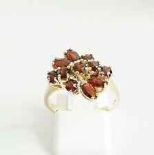 Ring Gold 333er Goldringe Granat 8 kt. Granatringe Goldschmuck Edelsteine