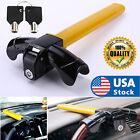 USA Car Steering Wheel Lock - Strong Heavy Duty Anti-Theft Steering Wheel Lock