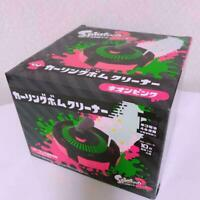 Taito Splatoon 2 Curling Bom Cleaner Neon Pink ver From Japan F/S