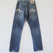 EVISU JEANS NINJA EU ED DENIM REGULAR  FIT PRIVATE STOCK W29 L31