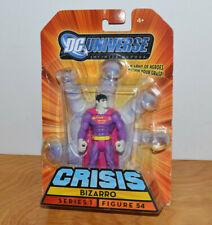 "DC UNIVERSE INFINITE HEROES BIZARRO ACTION FIGURE MOC PINK 2009 3.75"" COMICS"