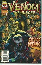 """VENOM  """" THE HUNGER """"   1 / 4  - MARVEL  1996 ( COMIC USA )"""