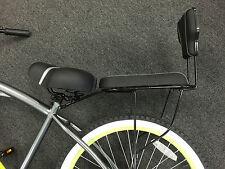 Fits 26''Rear Carrier Set Soft pads and wide saddle combo L shape rear bike rack