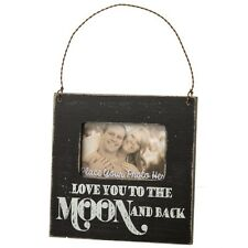 Vintage Photo Picture Frame Love You To The Moon And Back Shabby Chic Home Gift