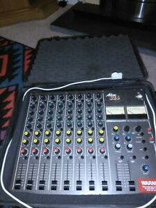 alice 828 8 track mixer vintage 1970s excellent condition with hard case