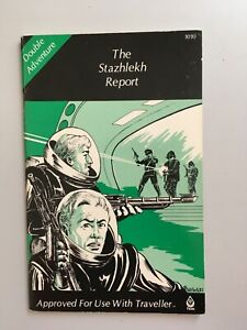 TRAVELLER Double Adventure:  The Stazhlekh Report and The Harrensa Project