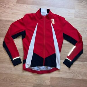 Gore Windstopper Soft Shell cycling jersey top size L LARGE