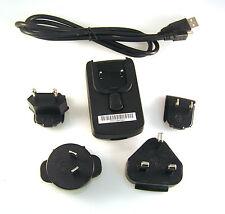 Adaptador de viaje nos PSB05R-050Q (EU UK AU) a USB Mini B Cable 5V 1A OM900